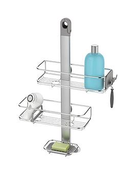simplehuman adjustable stainless steel shower caddy very. Black Bedroom Furniture Sets. Home Design Ideas