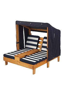 kidkraft-double-chaise-lounger-with-cupholder
