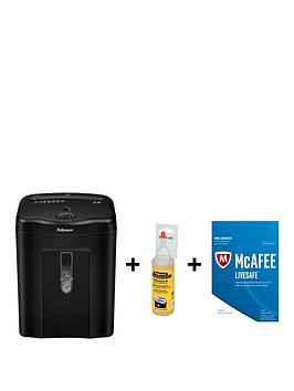 fellowes-powershrednbsp11cnbspcross-cut-shredder-for-home-use-with-free-shredder-performance-oil-and-mcafeenbsplivesafenbsp2017-security
