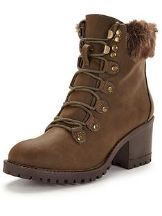 v-by-very-abigail-faux-fur-lace-up-boot-khaki