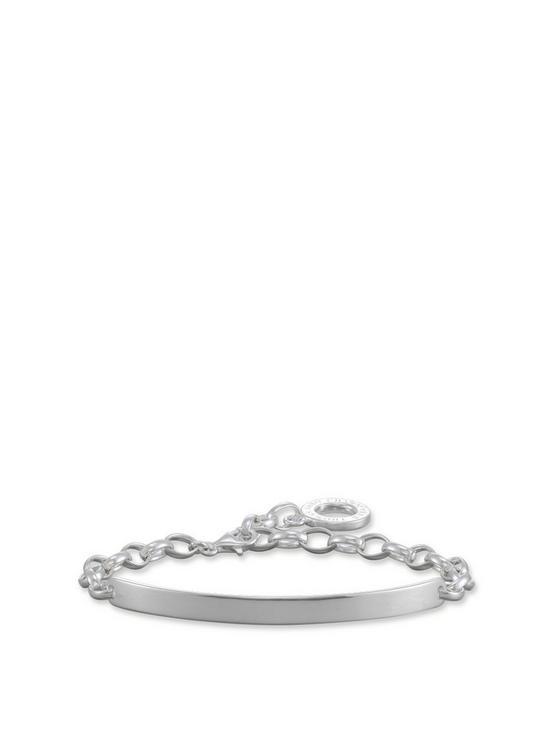 b581062aca6a9 Thomas Sabo Love Bridge Engravable Charm Bracelet   very.co.uk