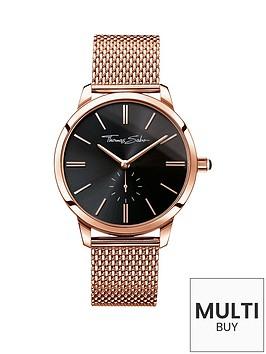 thomas-sabo-eternal-women-black-dial-rose-tone-ladies-watchnbspplus-free-diamond-bracelet