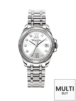 thomas-sabo-divine-silver-tone-dial-stainless-steel-bracelet-ladies-watch