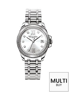 thomas-sabo-divine-silver-tone-dial-stainless-steel-bracelet-ladies-watchnbspadd-item-ktjq4-to-basket-to-receive-free-bracelet-with-purchase-for-limited-time-only