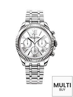 thomas-sabo-divine-silver-tone-dial-chronograph-ladies-watchnbspplus-free-karma-bead-bracelet