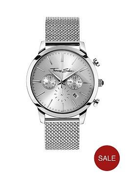 thomas-sabo-eternal-rebel-chronographnbspstainless-steel-mesh-bracelet-watch