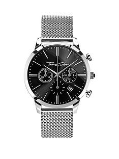 107d53cf2ab Thomas Sabo Eternal Rebel Chronograph Steel Mesh Bracelet Watch