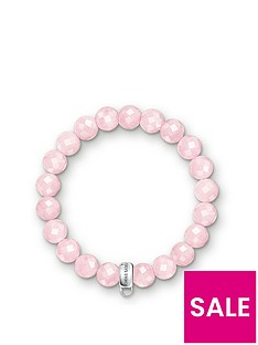 thomas-sabo-charm-club-rose-quartz-stone-bracelet
