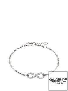 thomas-sabo-sterling-silver-cubic-zirconia-infinity-bracelet-18cm