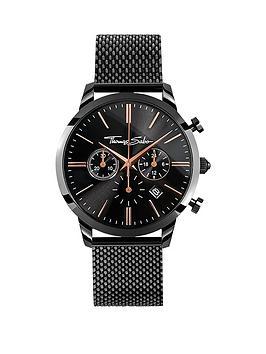 thomas-sabo-eternal-rebel-chronographnbspblack-stainless-steel-mesh-bracelet-watch