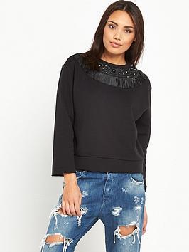 replay-tassle-sweatshirt