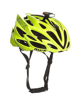 Awe Awespeed&Trade; In-Mould Adult Road Cycling Helmet &Amp; Usb Light Set