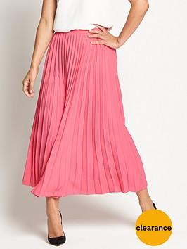 myleene-klass-sunraynbsppleated-midi-skirt