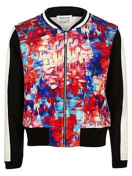 river-island-girls-pink-print-bomber-jacket