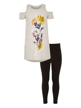 river-island-girls-floral-cold-shoulder-t-shirt-and-leggings-set