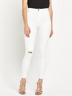 river-island-molly-high-rise-skinny-abrasion-jeans