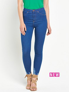river-island-molly-high-rise-chewed-hem-skinny-jeans