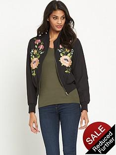 glamorous-embroidered-floral-bombernbsp