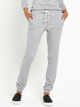 glamorous-tie-front-jersey-joggers-grey-marl