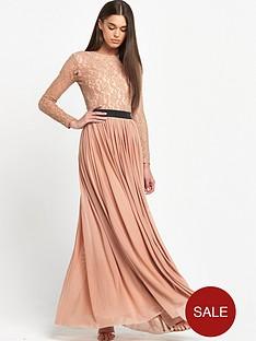 rare-lace-top-long-sleeve-maxi-dress