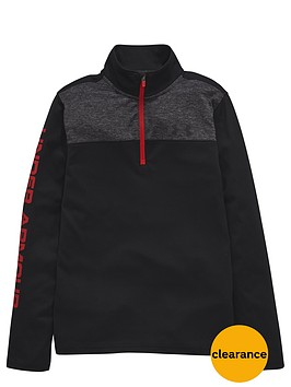 under-armour-under-armour-older-boys-tech-14-zip-long-sleeve-top