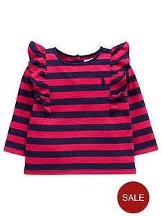 ralph-lauren-frill-sleeve-stripe-top