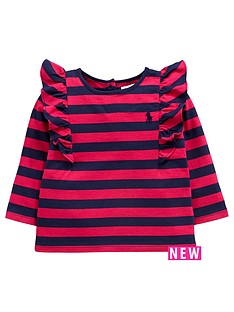 ralph-lauren-ralph-lauren-frill-sleeve-stripe-top