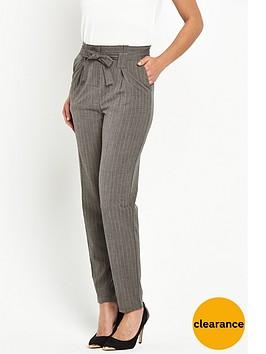 v-by-very-pinstripe-paperbag-trouser