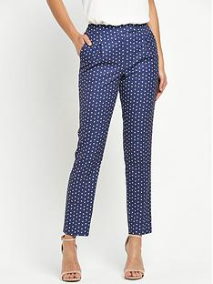v-by-very-slim-leg-print-trouser