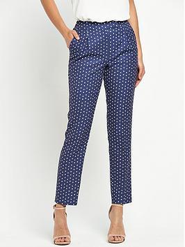 v-by-very-slim-leg-print-trouser
