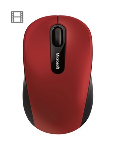 microsoft-bluetoothnbspmobile-mouse-3600-red