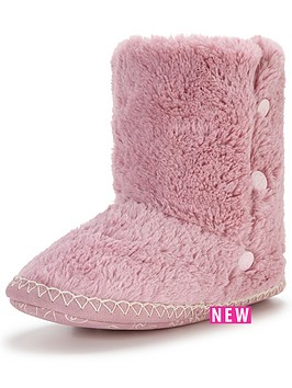 bedroom-athletics-diana-button-detail-slipper-boot-light-pink