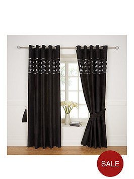 applique-circles-top-border-curtains