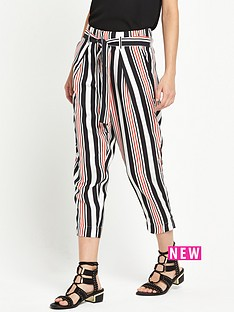 river-island-stripe-belted-waist-trouser
