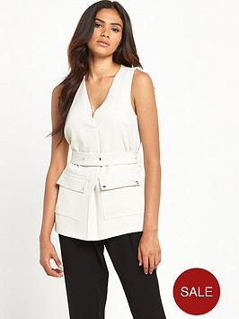 river-island-utility-belted-top