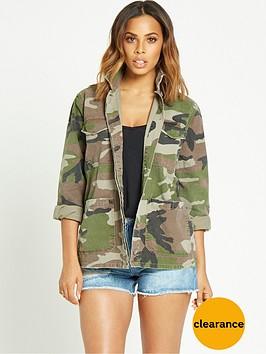 rochelle-humes-camo-shirt-jacket