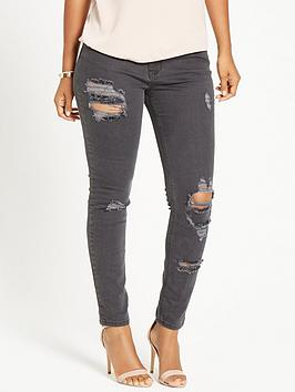 rochelle-humes-rip-and-repair-jeans-black