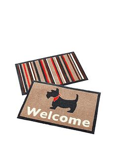 dogstripe-pack-of-2-doormats-ndash-great-value