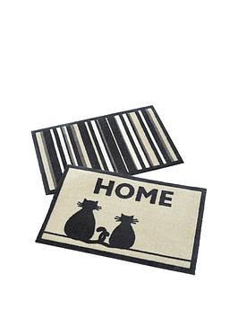 catstripe-pack-of-2-doormats-ndash-great-value