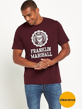 franklin-marshall-large-logo-ss-tshirt