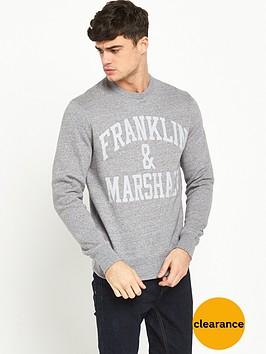 franklin-marshall-arch-logo-crew-sweat
