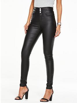 v-by-very-macy-high-waisted-skinny-jean-black-coated