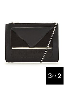 v-by-very-panelled-clutch-bag