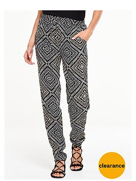 v-by-very-geo-print-tapered-trousers-blackmulti