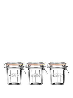 kilner-kilner-facet-jars-025-litre-set-of-3