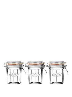 kilner-facet-jars-045-litre-set-of-3