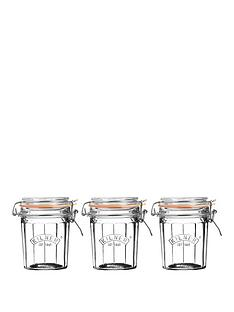 kilner-kilner-facet-jars-045-litre-set-of-3