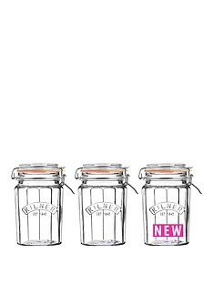 kilner-kilner-facet-jars-095-litre-set-of-3