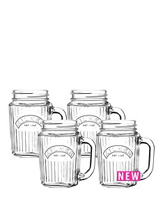 kilner-kilner-vintage-handled-jar-set-of-4-400ml