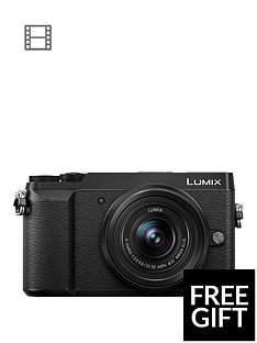 panasonic-lumix-dmc-gx80-compacyt-system-16mp-4k-wifi-12-32mm-lens-black-free-shouldernbspcamera-bag